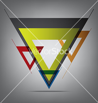 Free abstract decorative arrow vector - Free vector #235621