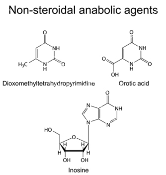 Free structures of nonsteroidal anabolic compounds vector - Free vector #235641