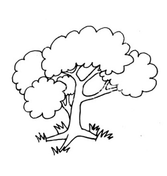 Free hand drawn tree vector - бесплатный vector #235861