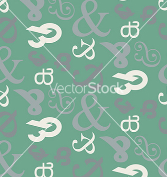 Free ampersand seamless pattern vector - Free vector #236101