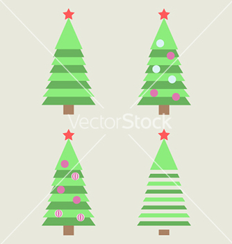 Free christmas tree vector - Free vector #236381
