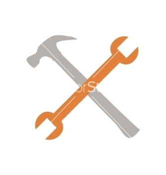 Free crossed tools vector - Kostenloses vector #236431
