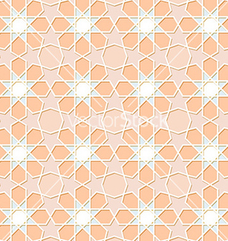 Free traditional ornamental seamless islamic pattern vector - Free vector #236981
