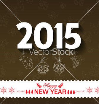 Free happy new year background vector - vector gratuit #237011