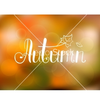 Free abstract autumn background vector - vector #237051 gratis