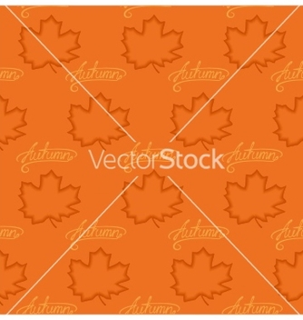 Free seamless pattern of maple leaves vector - Kostenloses vector #237091