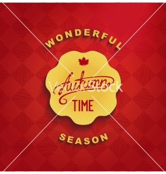 Free autumn wonderful time vector - Free vector #237111