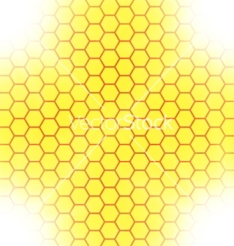 Free abstract honeycomb background blurry light effects vector - бесплатный vector #237191