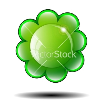 Free green flower background vector - Free vector #237341