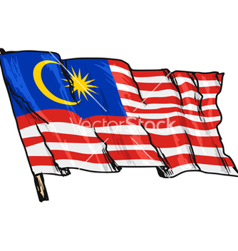 Free flag of malaysia vector - vector gratuit #237421