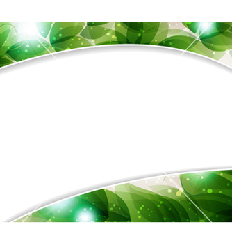 Free lush foliage vector - Free vector #237431