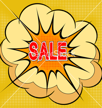 Free cartoon of sale vector - vector #237551 gratis