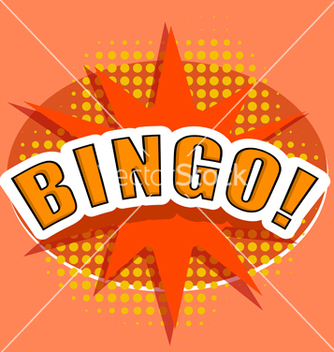 Free cartoon bingo design element vector - vector #237561 gratis