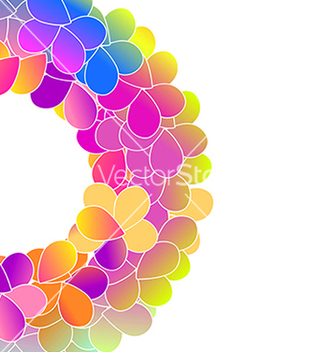 Free bright color floral background vector - Kostenloses vector #237661