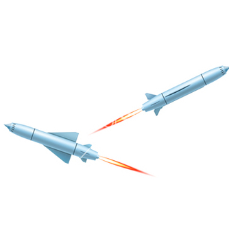 Free flying cruise missiles vector - vector #237771 gratis