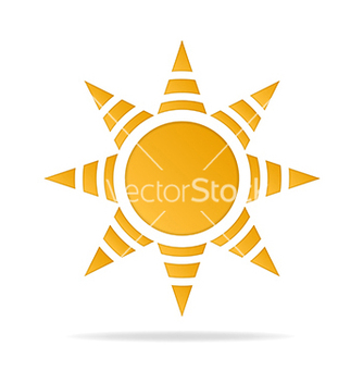 Free icon of sun vector - vector #237961 gratis