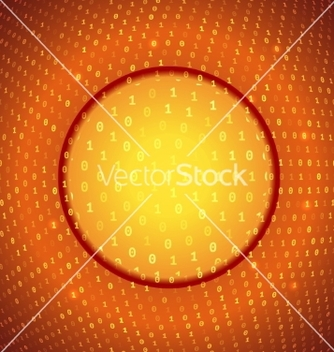 Free yellow orange abstract binary background vector - Kostenloses vector #238211