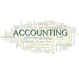 Free accounting word cloud word bubble tags vector - Free vector #238351