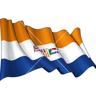 Free south africa 1928 1994 flag vector - vector gratuit #238371