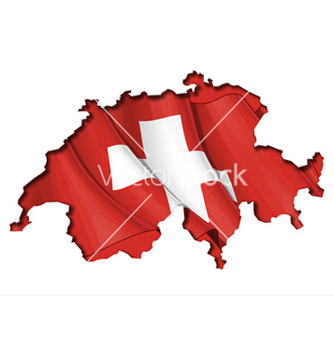 Free swiss map flag vector - Free vector #238491