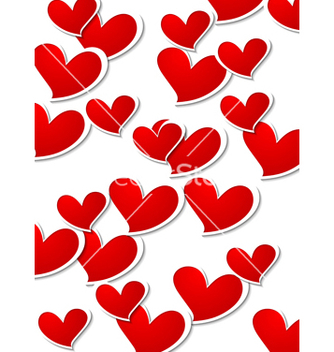 Free valentines day bright background vector - Free vector #238711