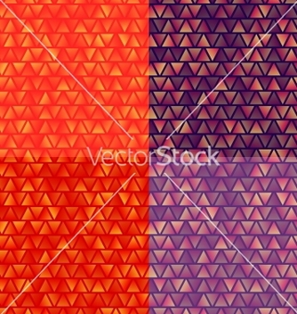 Free different colors abstract backgrounds set vector - Free vector #239001