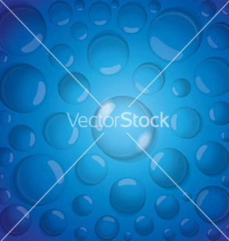 Free water drops background vector - vector #239031 gratis