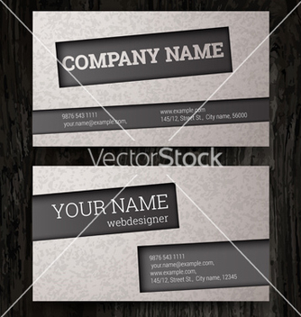 Free premium business card set eps10 vector - бесплатный vector #239091
