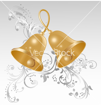 Free golden bells vector - vector #239131 gratis