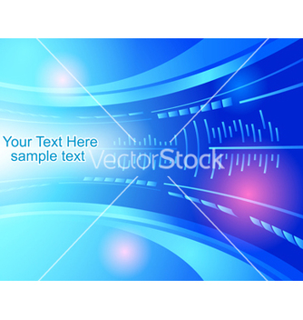 Free abstract blue background vector - Free vector #239221