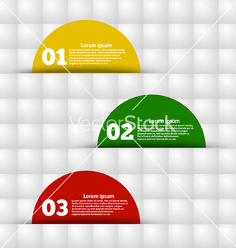Free geometric background with colored stickers vector - бесплатный vector #239401