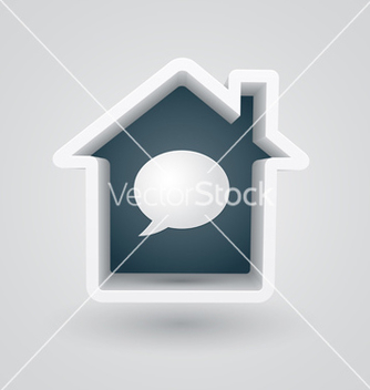 Free house chat vector - vector gratuit #239511