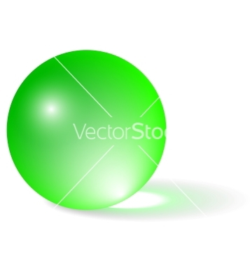 Free transparent green sphere vector - Free vector #239591