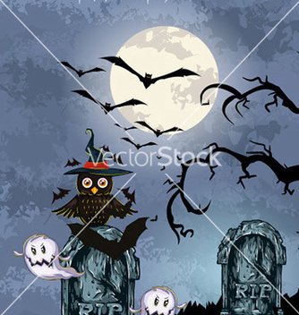 Free halloween background vector - Free vector #239951