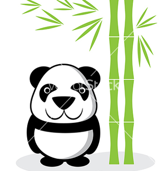 Free panda cartoon vector - Free vector #240021