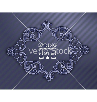 Free floral background vector - Free vector #240091