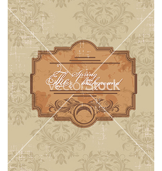 Free floral background vector - Free vector #240111