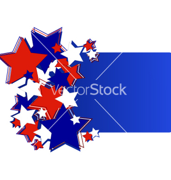 Free greeting card with stars vector - Free vector #240451