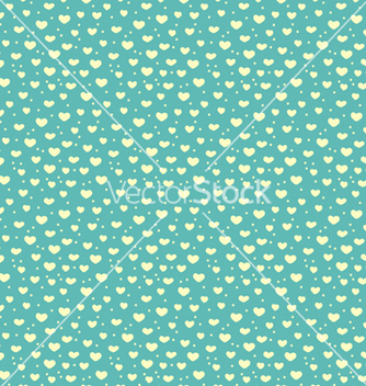Free seamless pattern of hearts and snow vector - Free vector #240481