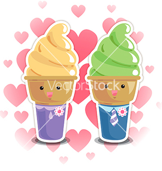 Free icecream vector - vector gratuit #240491