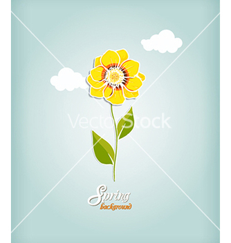 Free floral background vector - Free vector #240531