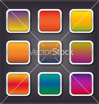 Free buttons set vector - бесплатный vector #240701