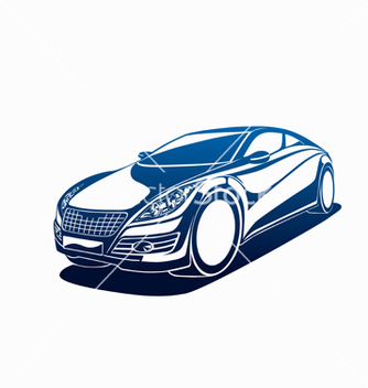 Free big automobile vector - vector gratuit #240721