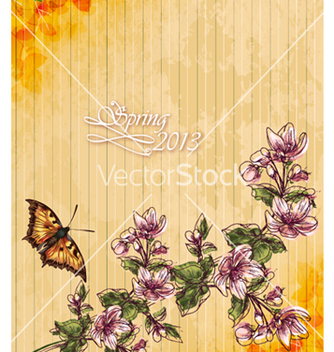 Free floral vector - Free vector #240881