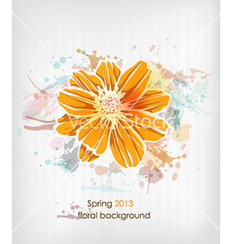 Free floral vector - Free vector #241031