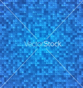 Free abstract blue pixel mosaic seamless background vector - Free vector #241651
