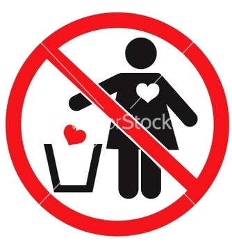 Free dont love concept vector - Kostenloses vector #242191
