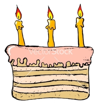 Free birthday cake vector - бесплатный vector #242281