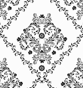 Free victorian seamless pattern vector - Kostenloses vector #242771