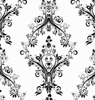 Free victorian seamless pattern vector - Kostenloses vector #242781